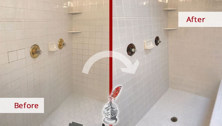 A Grout Cleaning Service In Charlotte NC Was All This Bathroom - Bathroom grout cleaning services