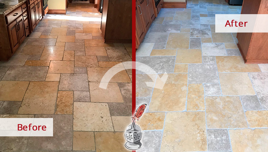 See How A Stone Honing Service Removed All The Etch Marks And