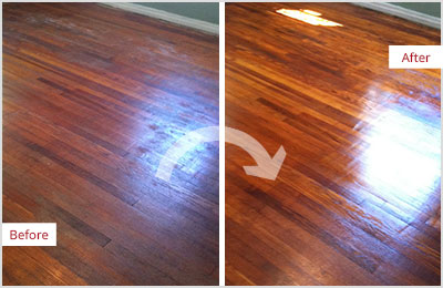 Sir Grout Charlotte Wood Refinishing Sand Free